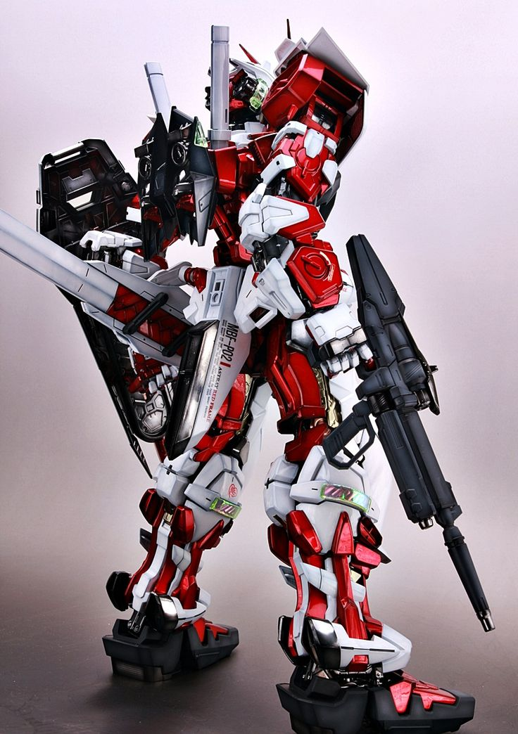 PG 1/60 Astray Red Frame - Painted Build. Modeled by livese1.