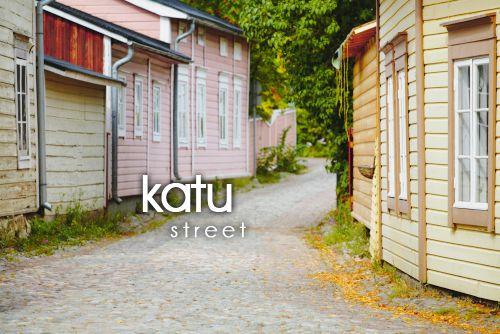 Finnish words Tämä on muuten Itäinen Pitkäkatu Porvoossa