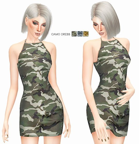 CAMOUFLAGE COLLECTION at Leeloo via Sims 4 Updates