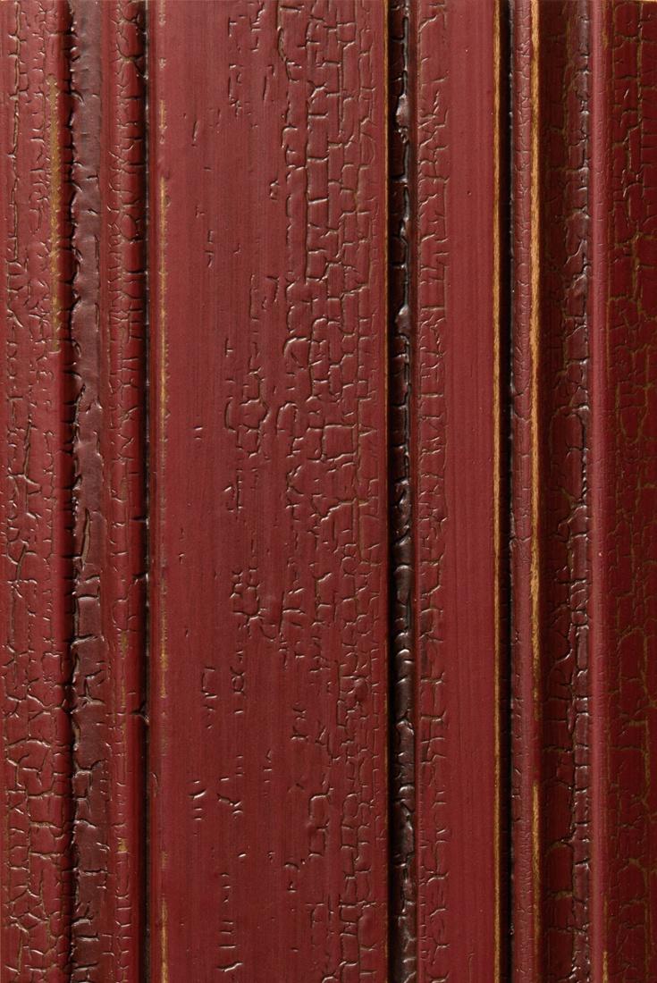 Arsenal Red Brushmark Crackle Red Antique color Design