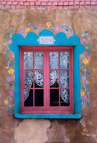 Store window, Santa Fe, New Mexico