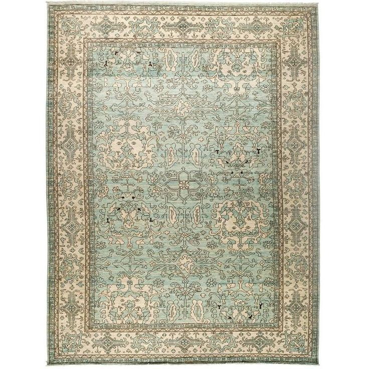 Blue Eclectic Area Rug Solo Rugs   1stdibs.com