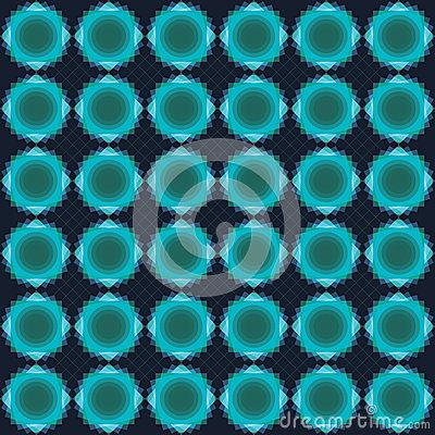 Blue And Green Floral Pattern - Download From Over 52 Million High Quality Stock Photos, Images, Vectors. Sign up for FREE today. Image: 80863369