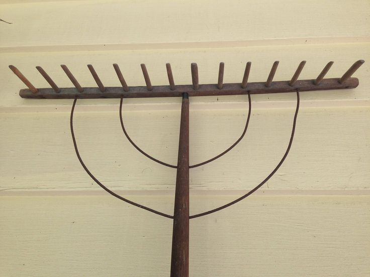 Early 1900 S Antique Wood Hay Rake Shaker Amish Style