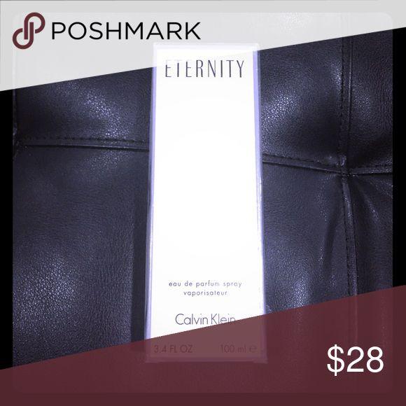 Eternity eau de parfum spray vaporisateur 3.4 FL Oz, new in package sealed. Calvin Klein Other