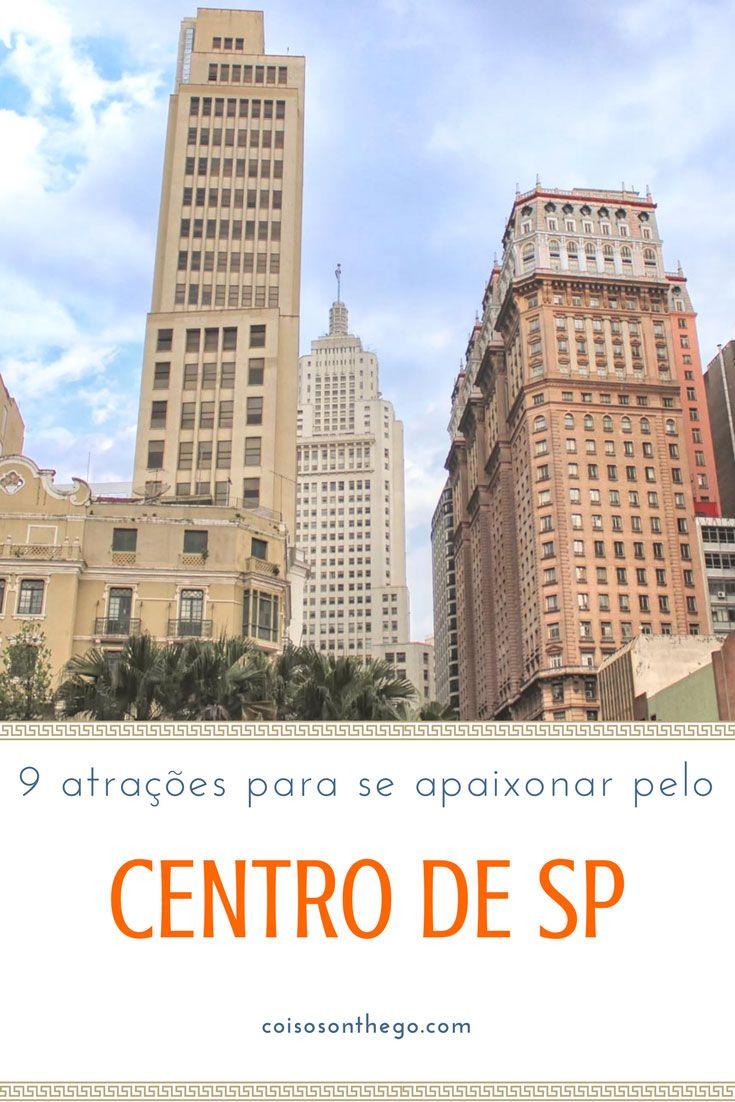 Centro de SP: dicas de atrações e passeios para você se apaixonar por essa região de São Paulo! Também tem dica de passeio gratuito em São Paulo. Veja tudo no post!