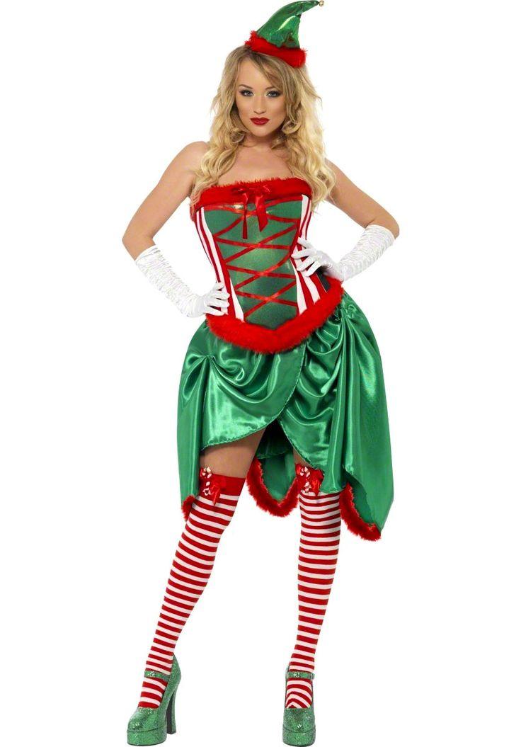 Sexy garden elf costume