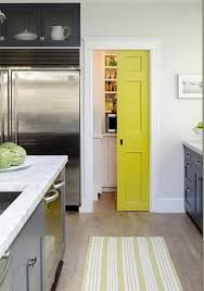 white kitchen with lime and red decor - Google Search