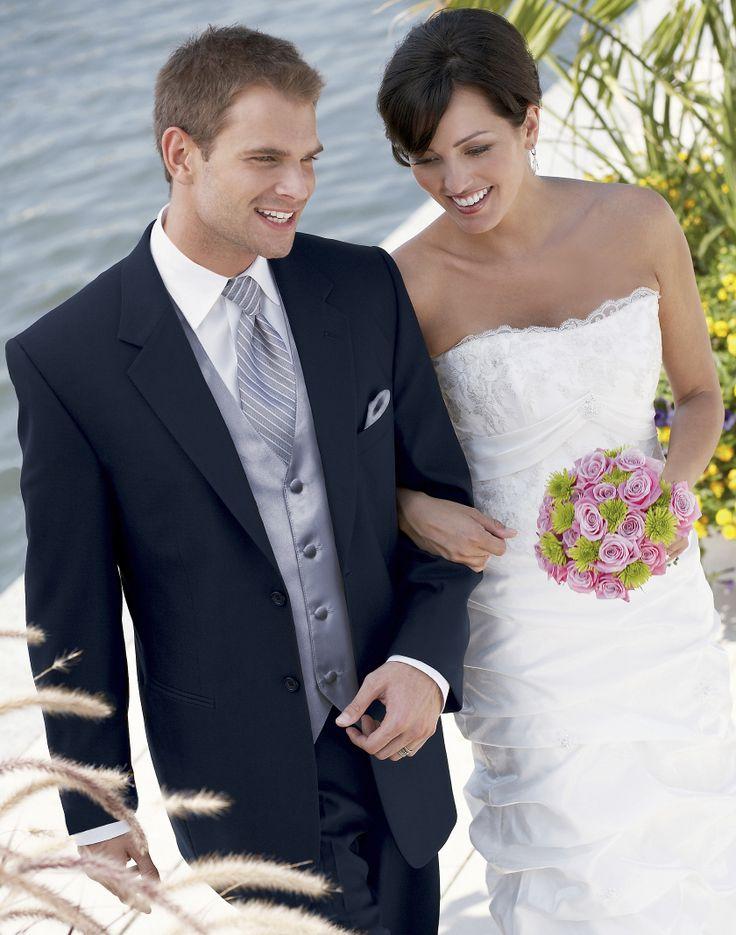 22 best Tuxedo\'s For The Groom images on Pinterest | Bridal gowns ...