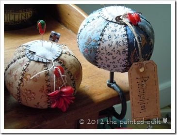 tutorial for lovely pincushion
