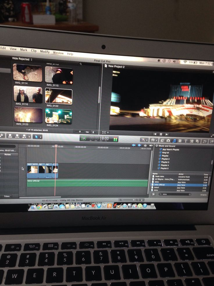 Working on that intro video #work