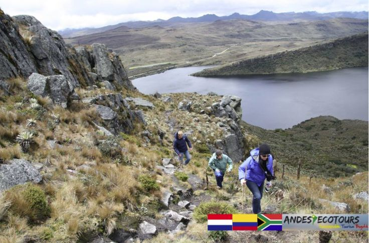 Hiking at Sumapaz National Park, one of the largest Páramo areas in the world.
