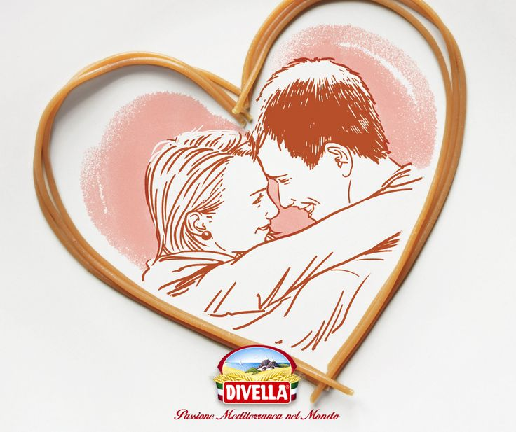Scopri l'amore in tutte le sue forme. Buon San Valentino da #Divella!