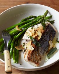 Mahimahi with Sage Garlic Chips Recipe - Quick From Scratch Fish & Shellfish | Food & Wine