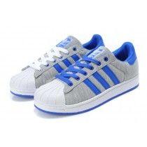 adidas gris et bleu