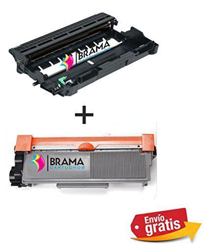 Tambor y Cartucho Compatible con Brother TN2310 / TN2320 & DR2300 / DR2320 Cartucho de Tóner Láser + Tambor para Impresoras Brother HL-L2300D, HL-L2320D, HL-L2340DW, HL-L2360DN, HL-L2360DW, HL-L2365DW, HL-L2380DW, DCP-L2500D, DCP-L2520DW, DCP-L2540DN, DCP-L2560DW, MFC-L2700DW, MF #Tambor #Cartucho #Compatible #Brother #Tóner #Láser #para #Impresoras #LDW, #LDN,