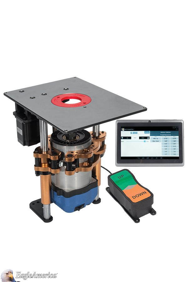 53 best router table systems images on pinterest a revolutionary computer controlled precision router lift the heavy duty powerlift pro handles the largest router motors and router bits keyboard keysfo Choice Image