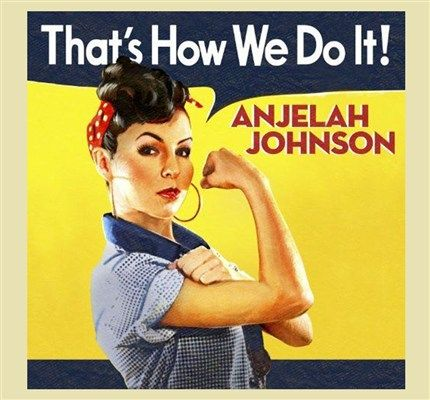 ANJELAH JOHNSON!! Check her out on Youtube!! She is a Really Funny Comedian!!!!