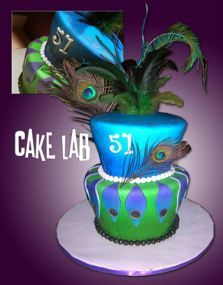 Best Images About Fantasyland On Pinterest Birthday Cakes - Peacock birthday cake