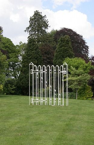 Gate (White) by Michael Craig-Martin