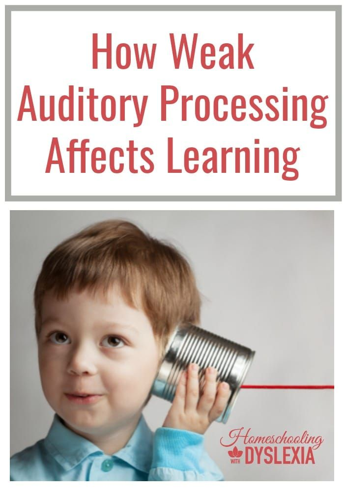 Auditory Processing Disorder and Learning   Auditory processing disorder is associated with many kinds of learning struggles.
