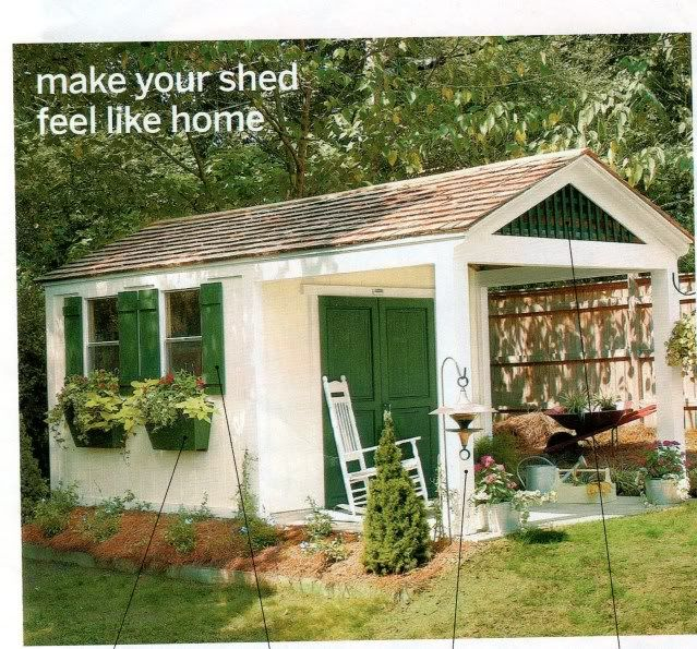 I Want This Shed Welcome To My Dream Home