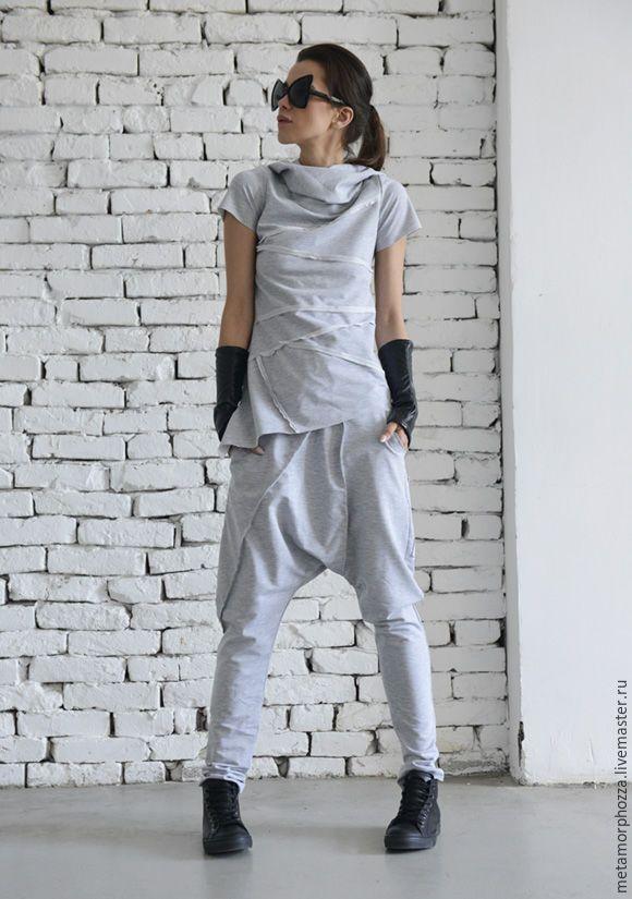 Купить СПОРТИВНЫЙ КОСТЮМ Grey set - серый, спортивный стиль, спортивный костюм…