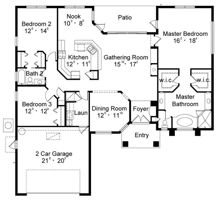 21 best House Plans images on Pinterest Modern houses, Home ideas