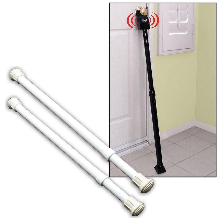 Protection Against Intruders - (Set/2) Window Security Bars & Door Alarm Bar