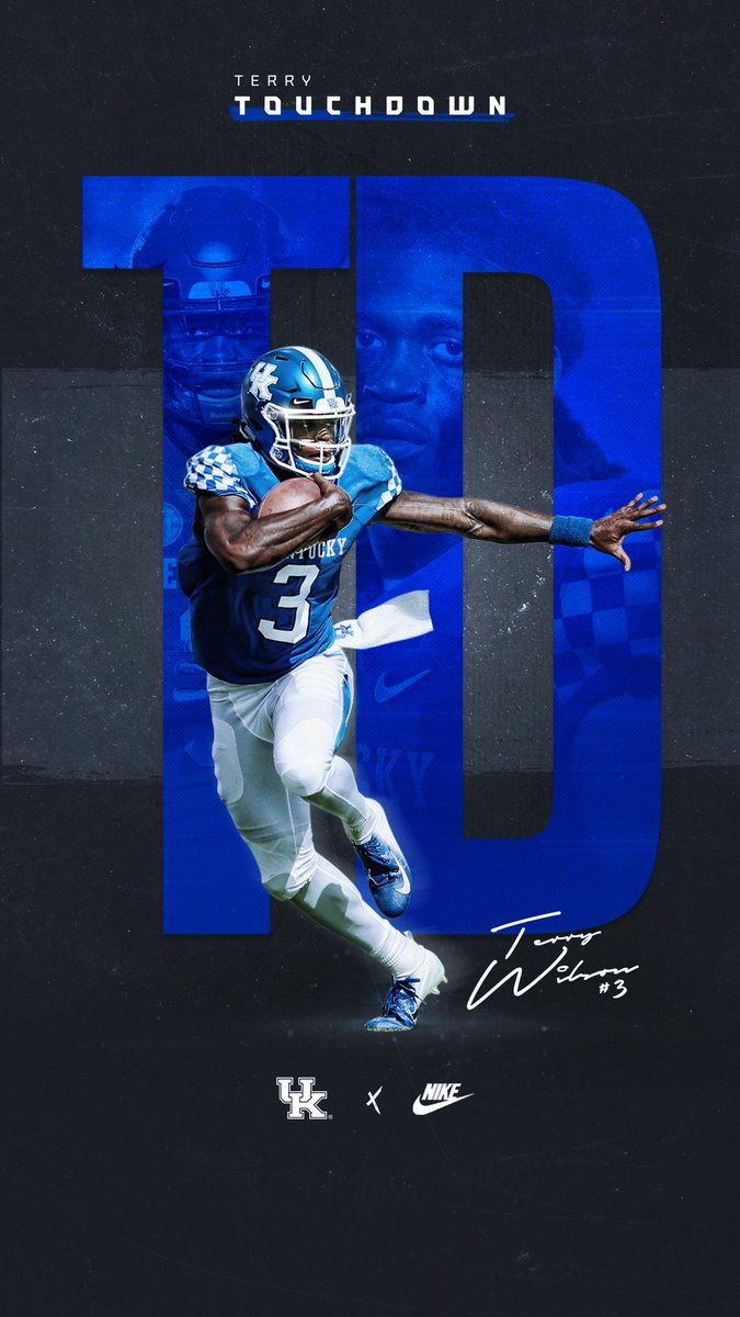 Kentucky Football Design Sports Wallpapers Sports Graphic Design