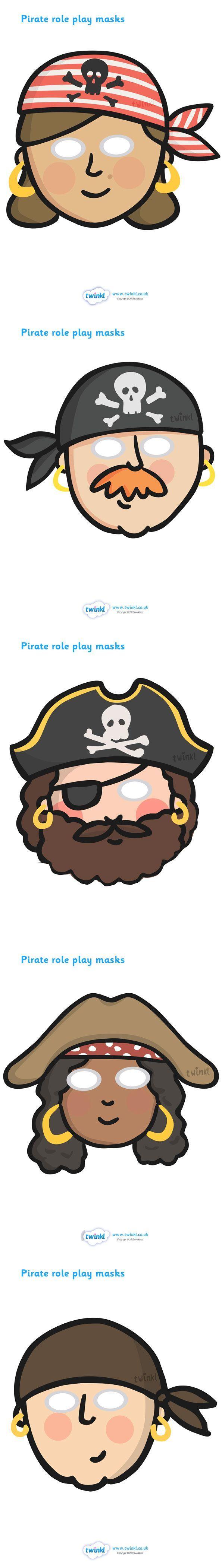 piraten maskers