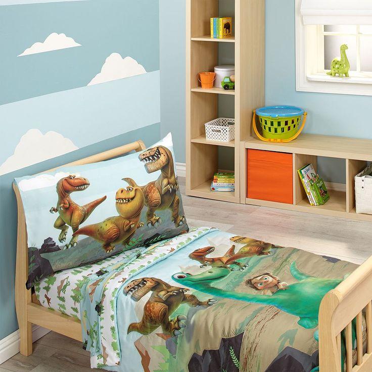 Disney / Pixar The Good Dinosaur 4-pc. Toddler Bedding Set, Green one size