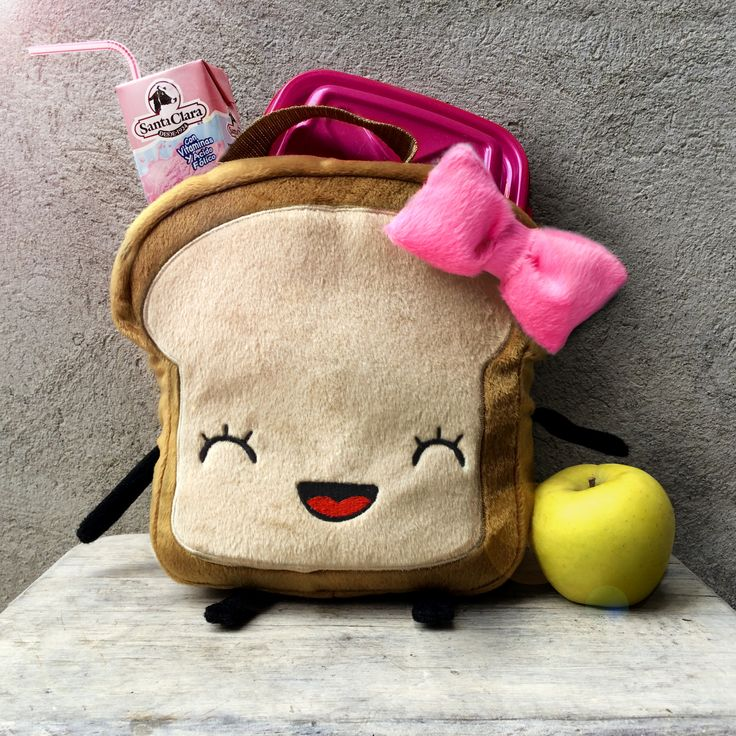 Get this on Etsy!  20x20x8 cm fabric LunchBox is perfect to keep your kids or your lunch perfect and delicious!!