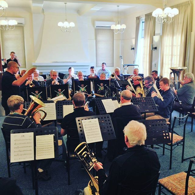 We at Wigram Base are proud to have hosted the New Zealand Army Band Reunion for 2016! A fun day was had by all, we even managed to snap a few pictures of their informal blow in the afternoon! #wigrambase #armyband #nz #army #band #reunion