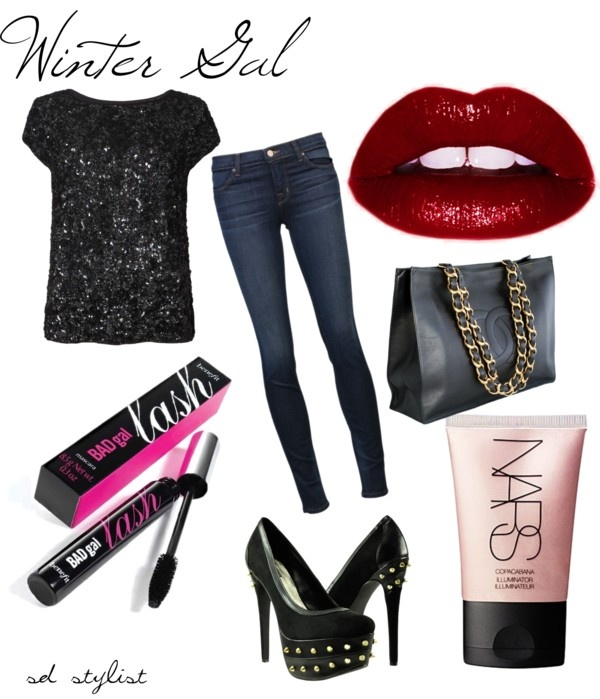 """""""Winter Gal"""" by sdfashionstylist on Polyvore"""