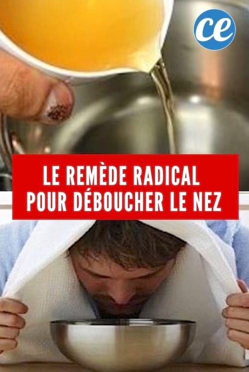 le remède naturel vinaigre de cidre pour déboucher le nez