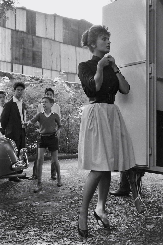 Sophia Loren, Italy, 1961, by Alfred Eisenstaedt