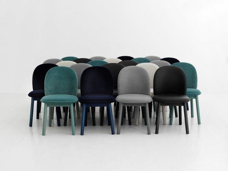 A nova linha ACE por Normann Copenhagen - cadeiras estofadas.