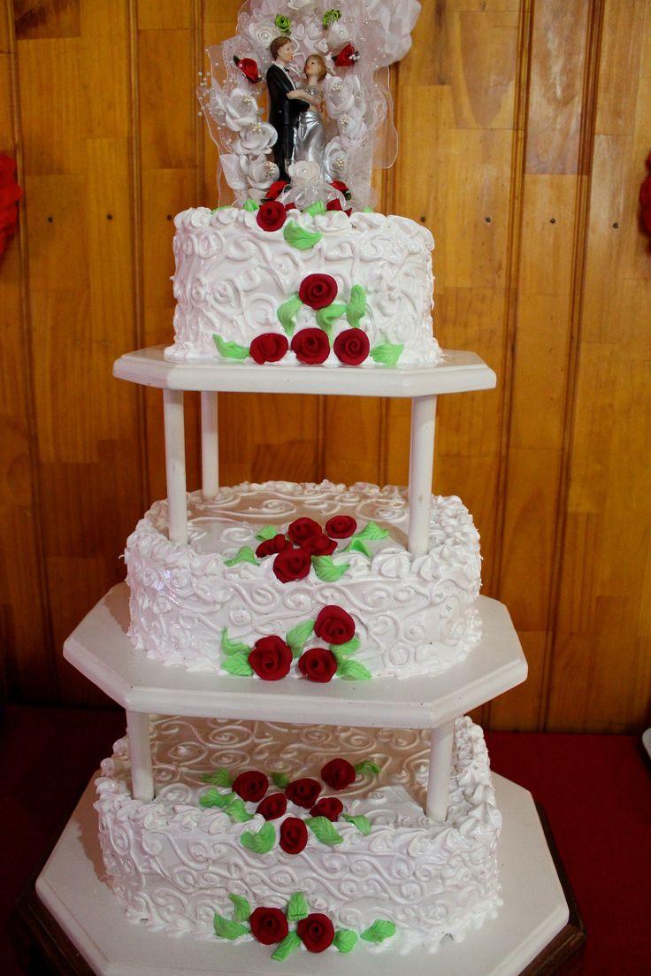 https://flic.kr/p/LpFpCJ | Torta de boda, Amapola, Azúcar dorada, Chocolate | www.facebook.com