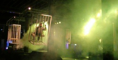 JVDG swinging cages / Now & Wow club