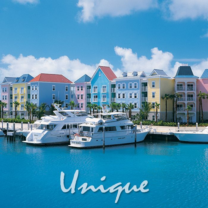 Enjoy both spaciousness and simple charm in the comfortable villas of Harbourside resort at Atlantis.  -------------  #bahamas #vacation #travel #getaway #caribbean