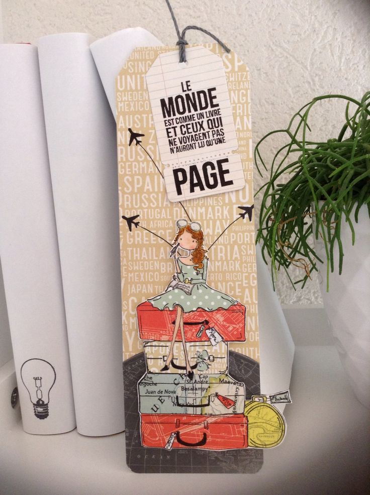 Marque-page #stamping bella