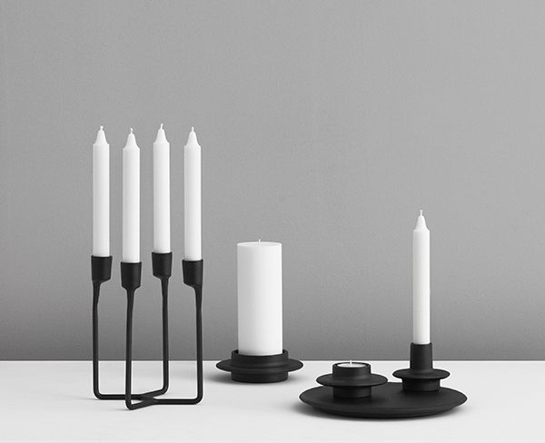 Heima candle holder collection - Normann Copenhagen