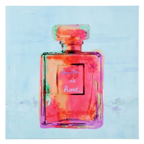 Love this pop art painting - Parfum by artist Michelle Bennett | Art | Z Gallerie