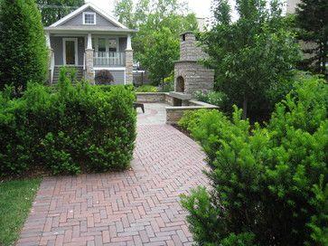 Front yard ideas backyard landscaping chicago for Landscape design chicago
