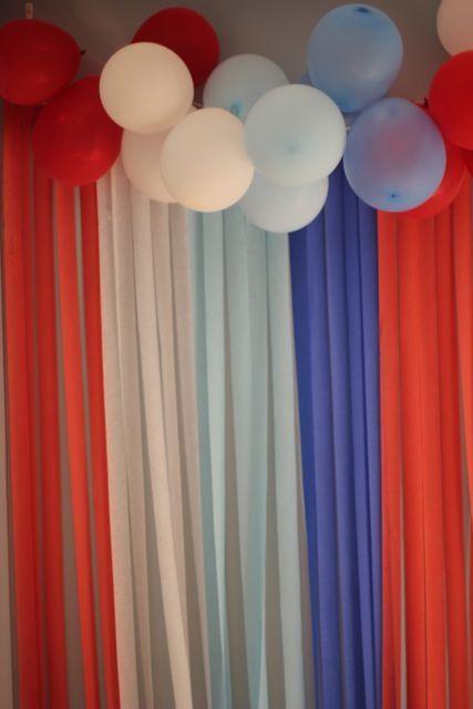 avengers party decoration idea