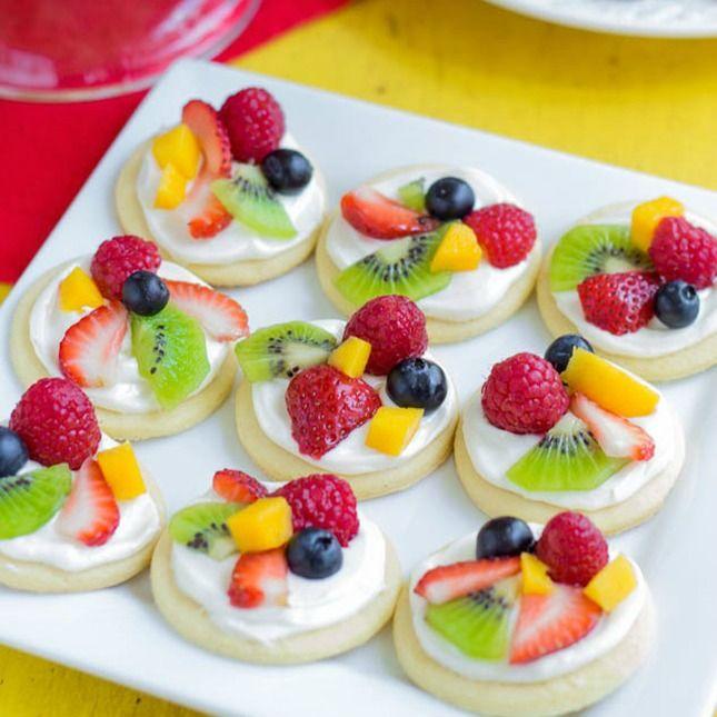 Beyond Cake Balls 17 Healthy Baby Shower Snacks