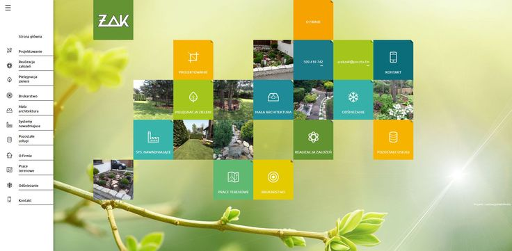 Projekt strony internetowej. Webmedio  #green_website #eko_website #rwd   http://www.webmedio.pl/