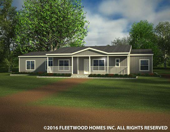 Montana Modular   Waverly Crest 40703W Fleetwood Homes