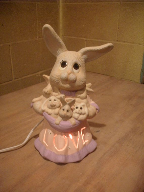 72 best easter images on pinterest bunny bunny rabbit and easter new born gift new baby shower gift nightlight bunny rabbit mother ceramic childs easter mothers day gifts for her girls gift girls room negle Gallery